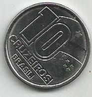 Brazil 10 Cruzeiros 1990. - Brésil