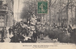 CARTE POSTALE DE MONTLUCON / FETES DE LA MI CAREME - Montlucon