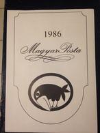 Hongrie - Magyar Posta - 1986 - Année Complète Avec Blocs Feuillet - Hongarije