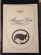 Hongrie - Magyar Posta - 1987 - Année Complète Avec Blocs Feuillet - Hongarije