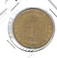 * Médaille Touristique,Monnaie  De  Paris  2005,  STE  BENIGNE ( 21 ) CATHEDRALE DE DIJON - Monnaie De Paris
