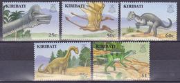 Lot De 5 Imbres-poste Neufs** - Faune Animaux Préhistoriques - N° 615-616-617-618-619 (Yvert Et Tellier) - Kiribati 2006 - Kiribati (1979-...)