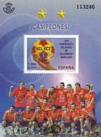 2013, Spanien, 4804 Block 239, Gewinn Der Handball-WM Der Männer, Ganar La Copa Del Mundo De Balonmano Masculino, MNH ** - 1931-Hoy: 2ª República - ... Juan Carlos I