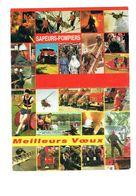 Petit Calendrier 1991 - Sapeurs-pompiers - Avion Canadair Hélicoptère Bateau Camion - Calendars