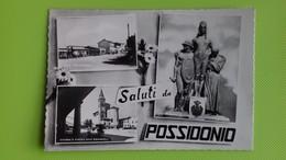 Cartolina SAN POSSIDONIO - MO - Viaggiata - Postcard - Vedutine - Bianco E Nero - Modena