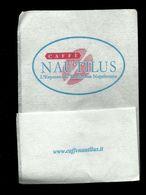 Tovagliolino Da Caffè - Caffè Nautilus - Serviettes Publicitaires