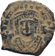 IMPERIO BIZANTINO. MAURICIO TIBERIO. 10 NUMMI. ANTIOQUIA 582-602 D.c. - Bizantinas