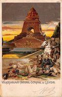 Allemagne - Leipzig - Völkerschlacht National Denkmal - Illustration - Leipzig
