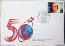 Ukraine 2012. MiNr. 1268. Pavel (Pavlo) Popovich. 1930-2009. FDC Uzin - FDC & Commémoratifs