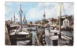 14 Port En Bessin Vue Sur Le Pollet Du 2e Bassin CPSM PF Oblitération 1965 - Port-en-Bessin-Huppain