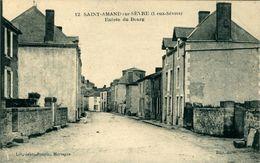 SAINT-AMAND-SUR-SEVRE  Entrée Du Bourg - France