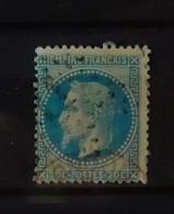 France N°29 Oblitéré London En Rouge - 1863-1870 Napoléon III Lauré