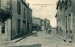 SAINT-AMAND-SUR-SEVRE   Une Rue - France