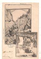 Briançon - Pont Baldy Et Cascade -  CPA° - Briancon