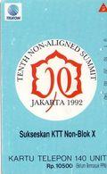 TARJETA TELEFONICA  DE INDONESIA. TIRADA 10000 (003) - Indonesia
