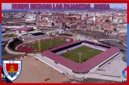 CARTE  De  Stade  De:    SORIA  ESPAGNE  NUEVO ESTADIO LA PAJARITOS  #  CS. 361 - Fussball