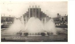 Bruxelles - CPA - Brussel - Fontaines En Face Du Grand Palais - Bossen, Parken, Tuinen