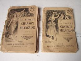 Liv. 236. La Vieille Chanson Française. 1er Et 2ème Série. - Books, Magazines, Comics