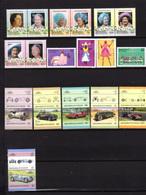 1985-86 Saint Vincent Grenadines, Entre Yv. 424 Et 490**, Cote 110 €,tout Est Thématique - St.Vincent & Grenadines