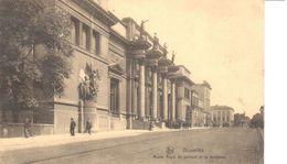 Bruxelles - CPA - Brussel - Musée Royal De Peinture De Sculplure - Musées