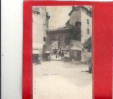 "GRASSE . PORTE NEUVE + CACHET "" HOPITAL TEMPORAIRE DE NICE . JUILL 1915 "" 2 SCANES - Grasse"