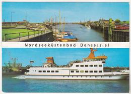 Germany Old Uncirculated Postcard - Passenger Ship - Langeoog IV - Barche