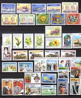 1985-87 Trinité-Tobago, Séries  Entre Yv.522 Et 571**, Cote 92 €, - Trinité & Tobago (1962-...)