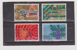 SUISSE   1972  Y.T. N° 895  à  898  Oblitéré - Svizzera