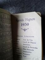 Agenda Mignon 1930 Publicité Cognac Otard - Oude Documenten