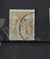 France N° 105 - Cote : 55 Euros - 1898-1900 Sage (Type III)