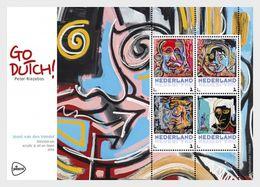 Netherlands 2017 - Go Dutch Of Peter Riezebos - (Vondel) Souvenir Sheet Mnh - Period 2013-... (Willem-Alexander)