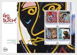 Netherlands 2017 - Go Dutch Of Peter Riezebos - (Spinoza) Souvenir Sheet Mnh - Period 2013-... (Willem-Alexander)