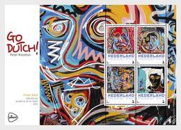 Netherlands 2017 - Go Dutch Of Peter Riezebos - (Frans Hals) Souvenir Sheet Mnh - Period 2013-... (Willem-Alexander)