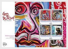 Netherlands 2017 - Go Dutch Of Peter Riezebos - (Michiel De Ruyter) Souvenir Sheet Mnh - Period 2013-... (Willem-Alexander)
