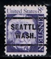 """USA Precancel Vorausentwertung Preo, Locals """"SEATTLE"""" (WASH). - United States"""