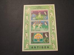 ANTIGUA - BF 1972 SPORT CRICKET - NUOVO(++) - Antigua E Barbuda (1981-...)