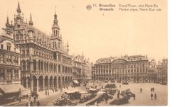 Bruxelles - CPA - Brussel - Grand'Place - Musea