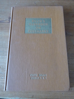 Billig's Philatelic Handbook Volume 8 1st Edition By HJMR, 179 Pages - Manuali