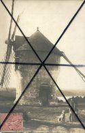 LA ROCHE BERNARD ***  ENVIRONS****  MARZAN  **** LE MOULIN EN 1904 **** CARTE PHOTO *** - La Roche-Bernard