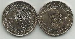 Nicaragua 50  Centavos 1974. High Grade - Nicaragua