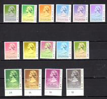 1987 Hong Kong, 1987 Definitive, Yv. 499 / 513 **, Cote 95 €, - Hong Kong (...-1997)