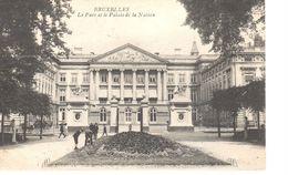 Bruxelles - CPA - Brussel - Le Parc Et Le Palais De La Nation - Bossen, Parken, Tuinen
