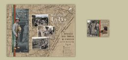 PORTUGAL 100 YEARS BATTLE LA LYS MNH SOUVENIR SHEET AND STAMP WWI 1918 - 2018 - Used Stamps