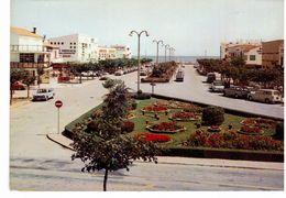 Narbonne-Plage - Parterre Floral Et Boulevard Central - Narbonne