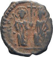 IMPERIO BIZANTINO. JUSTINO II Y SOFÍA. 10 NUMMI. ANTIOQUIA 565-578 D.c. - Bizantinas