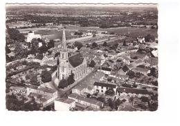 44 Haute Goulaine Place De L' Eglise La France Vue Du Ciel CPSM GF Edit Artaud Cachet Oblitération Haute Goulaine 1965 - Haute-Goulaine