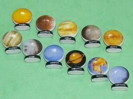 Sèrie De Fèves Complète  : Les Planètes - Fèves