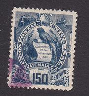Guatemala, Scott #40, Used, National Emblem, Issued 1886 - Guatemala