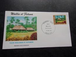 WALLIS ET FUTUNA (1990) Fales Wallisien Et Futunien - Wallis And Futuna