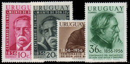 Uruguay 1956 Ordonez Air Set Unmounted Mint. - Uruguay